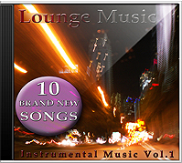 CD: Lounge Music - Vol.1 Instrumental Music